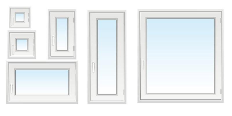 Hervorragend Fenstermaße » Standardfenster nach DIN Norm | neuffer.de XC65
