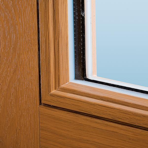 Holzfenster rustikal mit sprossen nach ma - Feuchtigkeit am fenster innen ...