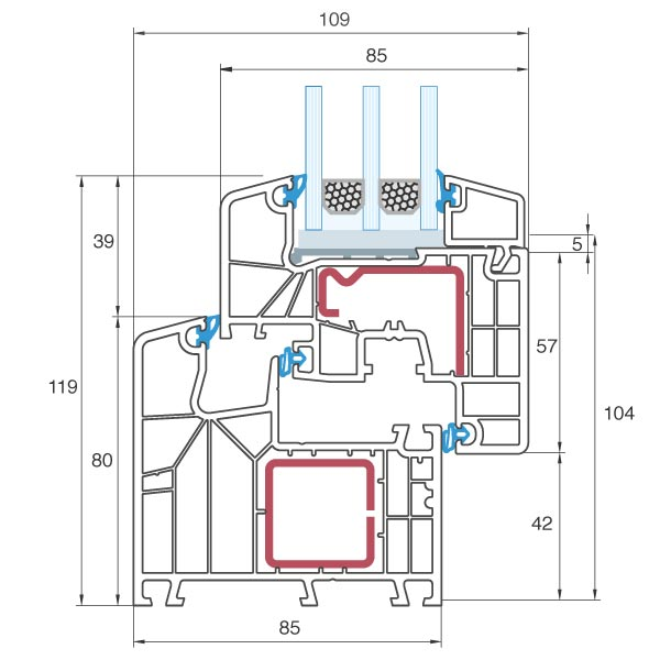 Gut bekannt aluplast ideal® 8000s » Kunststofffenster online | neuffer.de OK53
