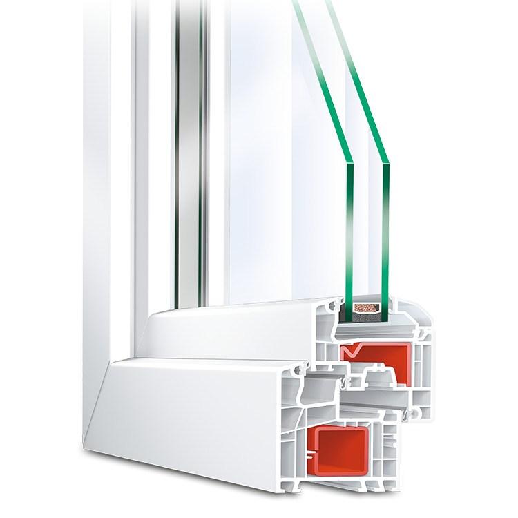 aluplast ideal 5000s kunststofffenster g nstig. Black Bedroom Furniture Sets. Home Design Ideas