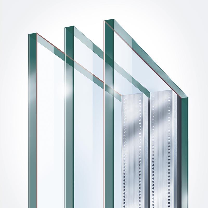 3 fach verglasung kunststofffenster mit verglaste fenster preis