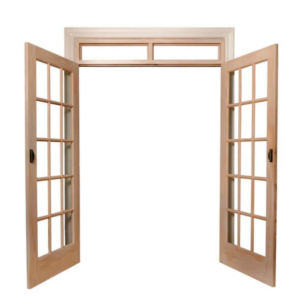 Oak French Doors Neuffer