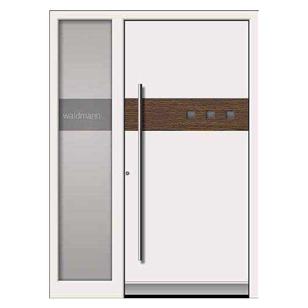 Haustüren modern grau mit seitenteil  Aluminium Haustüren zu günstigen Preisen | neuffer.de