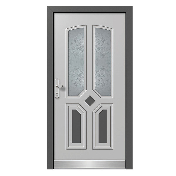 Aluclad Timber Front Doors Custom Built In A Variety Of