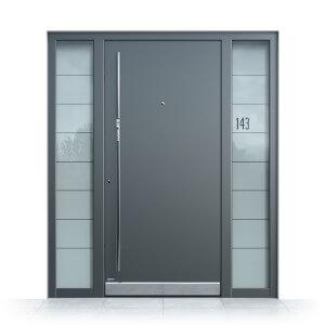 Gut bekannt Haustür Glas » Eingangstüren mit Glaseinsatz & Glasfüllung TH19
