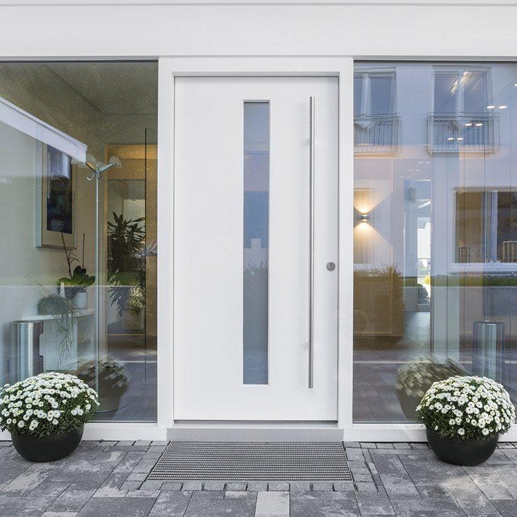 Geliebte Haustür Glas » Eingangstüren mit Glaseinsatz & Glasfüllung @YO_71