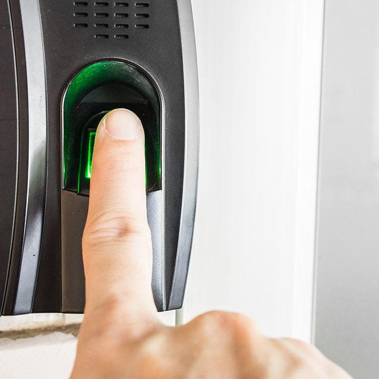 Favorit Fingerprint Haustür » Fingerscanner für mehr Sicherheit | neuffer.de OO52