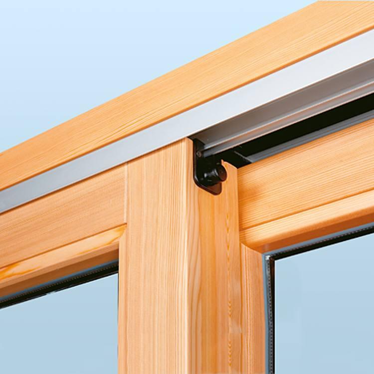 Hebeschiebetür Holz Alu In Modernem Design Neufferde