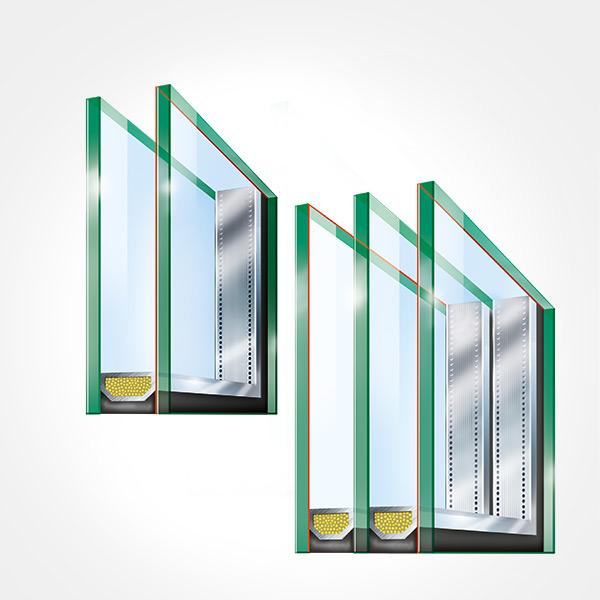 3 Fach 2 Fach Verglasung Mit Wärmeschutz Neufferde