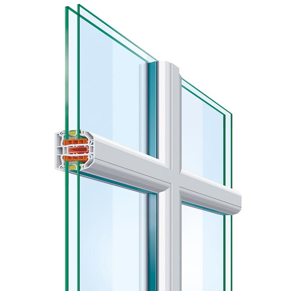 Aluminium Glazing Bars For Glass