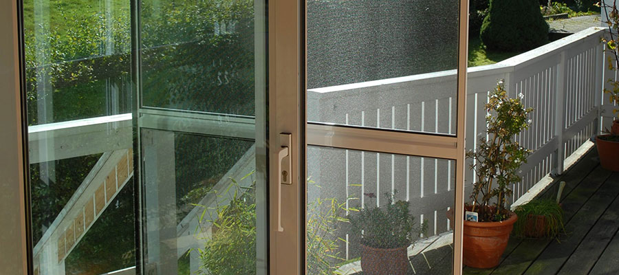 Insect Protection Sliding Door