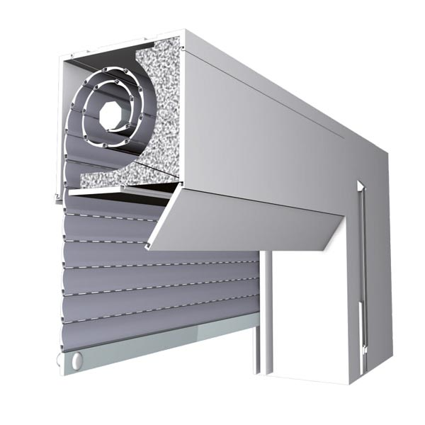 Top Mounted Roller shutters Model Top Duo
