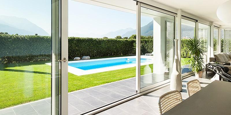 Favorit Terrassen Schiebetür kaufen » günstige Preise | neuffer.de YD06